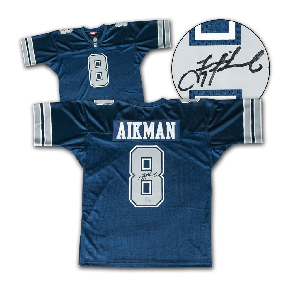 c1ce0fd6a3b Image 1 : Troy Aikman Dallas Cowboys Autographed Mitchell & Ness Jersey -  Steiner COA