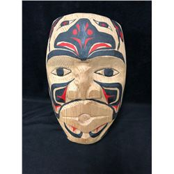 """NATIVE ART HANGING WALL MASK BY DESMOND SMITH (8"""" X 12"""")"""