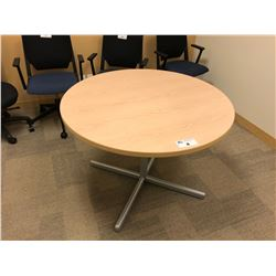MAPLE 48'' ROUND CONFERENCE TABLE