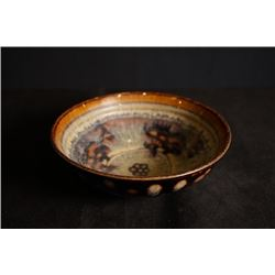 """Ji Zhou"" Kiln High Temperature Glazed Bowl. Condition as is, shown in photos."
