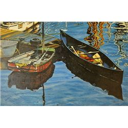 Rowboats; Dan Varnals. Dan Varnals. Dan Varnals (1931-), who was born in London, UK, is one of the m