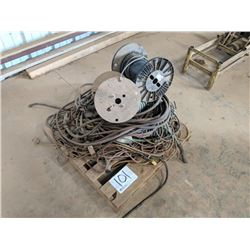 AIR HOSES AND ELECTRICAL WIRE