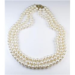 18CAI-53 PEARL NECKLACE