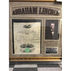 18GU-36 NAVAL COMM. SIGNED LINCOLN
