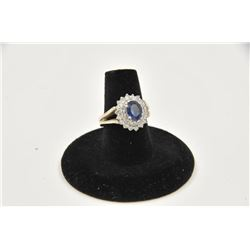 18RPS-49 SAPPHIRE RING