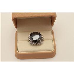 17HM-1 BLACK DIAMOND RING