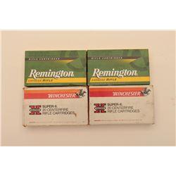18KP-2 3 BOXES REM/WIN. .375 H&H MAG. 1 PARTIAL