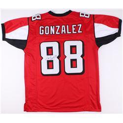 competitive price 31b27 16a1e Tony Gonzalez Signed Falcons Jersey (JSA COA)