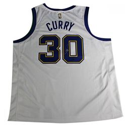 c0c326c8d Stephen Curry Signed Warriors Nike Jersey (Steiner COA)