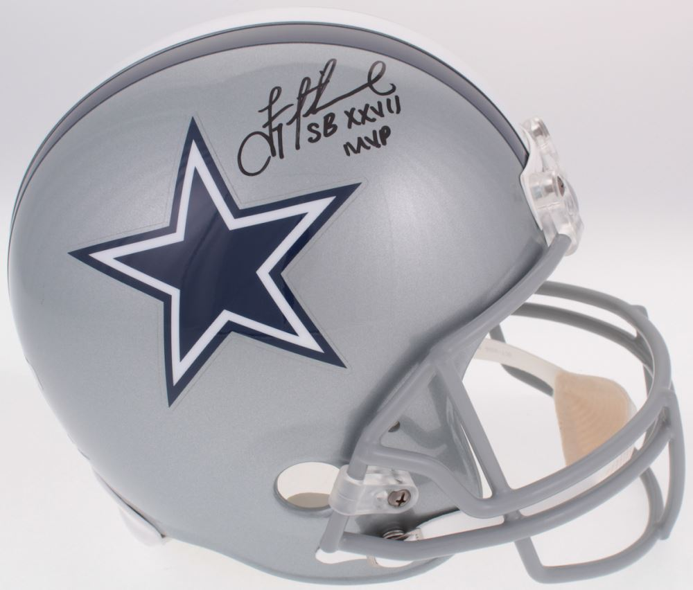8829d8e4899 Image 1   Troy Aikman Signed Cowboys Full-Size Helmet Inscribed