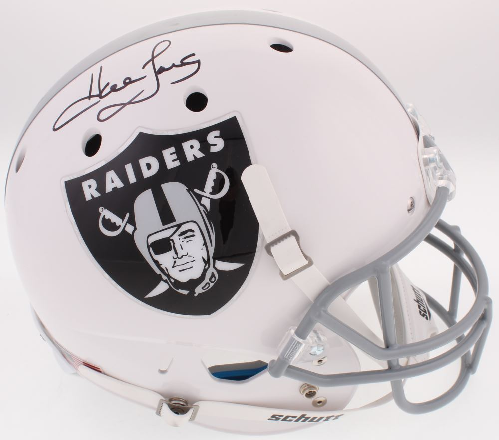 2354aa514dc Image 1   Howie Long Signed Raiders Full-Size Helmet (JSA COA)
