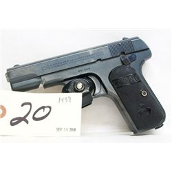 Colt 1903 Pocket Hammerless Handgun