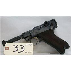 Luger Mod. P08 handgun