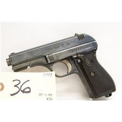 Bohmische Waffinfabrik Mod. 27 Handgun