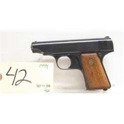 Deutsche Werke Ortgies Patent Handgun