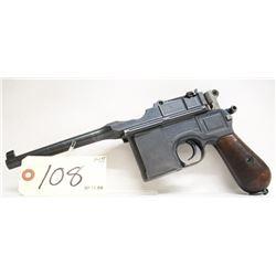 Mauser C96 Standard Broomhandle Handgun