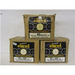 40 S&W HARD CAST BULLETS