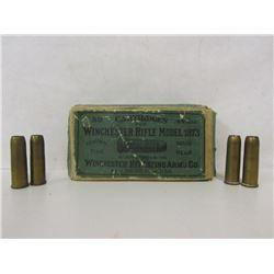 WINCHESTER MODEL 1873 44 WCF SHOT CARTRIDGES