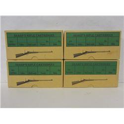 SHARP'S RIFLE CARTRIDGES BOXES