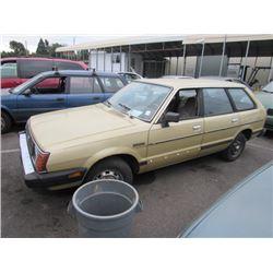 1984 Subaru DL