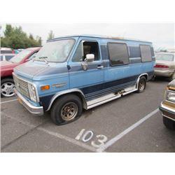 1984 Chevrolet Sportvan