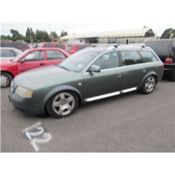 2001 Audi allroad quattro
