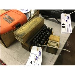 LOT OF NUMBER AND LETTER PUNCHES