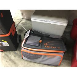 LOT OF 2 COOLERS