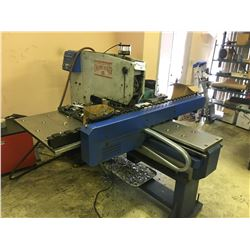 FUNCTIONAL ROBOTICS INC. CHASSIS MAKER III, S/N 969016, 15 TON ROTARY SHEET PRESS WITH COMPUTER AND