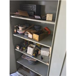 CONTENTS OF METAL CABINET