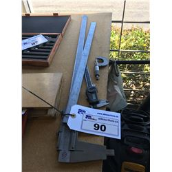 2 VERNIER CALIPERS