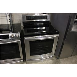 STAINLESS STEEL SAMSUNG CERAMIC TOP STOVE