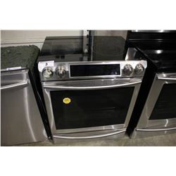 STAINLESS STEEL SAMSUNG STOVE