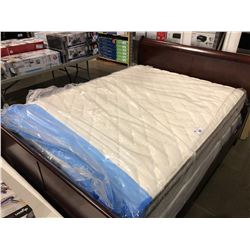 QUEEN SIZED SERTA MATTRESS WITH BOX SPRING