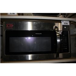 FRIGIDAIRE STAINLESS STEEL OVER RANGE MICROWAVE