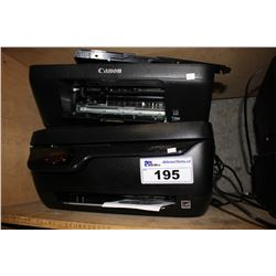 HP AND CANON ALL IN ONE PRINTERS