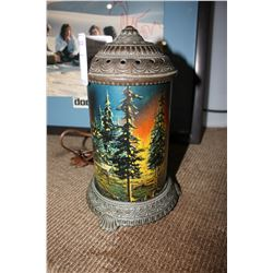 1920'S FOREST SCENE MOTION LAMP