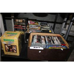 LARGE COLLECTION OF VIDEO GAMES AND MOVIES