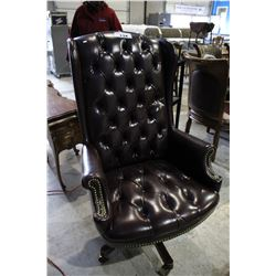 BUTTON BACK EXECUTIVE OFFICE CHAIR