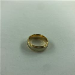 14 KT WHITE & YELLOW GOLD RING