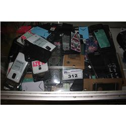 LARGE COLLECTION OF ASSORTED PHONE CASES