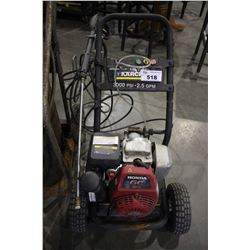 KARCHER 3000 PSI 2.5 GPM PRESSURE WASHER