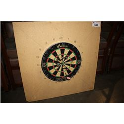 SWIFTFLYTE DARTBOARD WITH DARTS