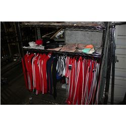 RACK OF BRAND NEW CLOTHING, JEWELLERY, ACCESSORIES AND MORE (RACK NOT INCLUDED)