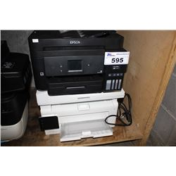 TWO PRINTERS INCLUDING EPSON AND HP