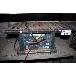 "MASTERCRAFT 13A 10"" TABLE SAW"