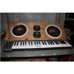 ACORN 49 MASTERKEY KEYBOARD AND SUBWOOFER