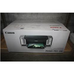 CANON PIXMA PRO-100 PHOTO INKJET PRINTER
