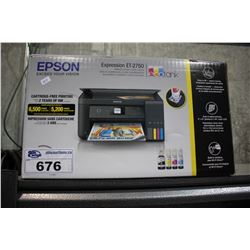 EPSON EXPRESSION ET-2750 WIRELESS ALL IN ONE PRINTER