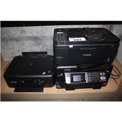 THREE PRINTERS - CANON AND EPSON